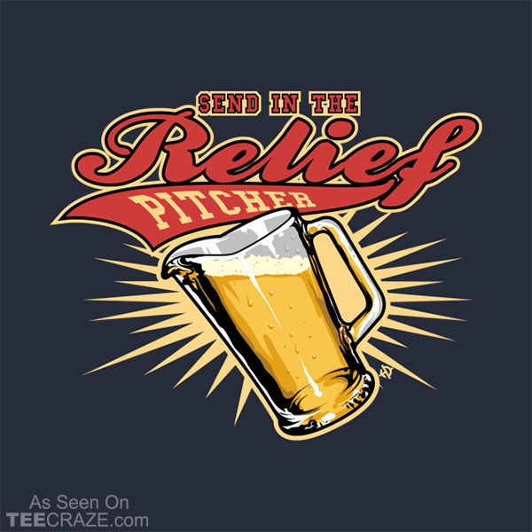 Relief Pitcher T-Shirt
