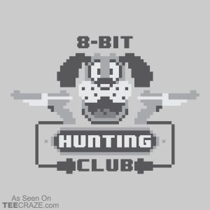 8-Bit Hunting Club T-Shirt