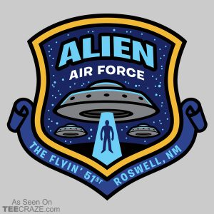 Alien Air Force T-Shirt