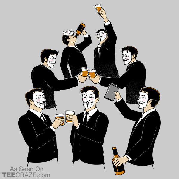 Anonymous Alcoholics T-Shirt