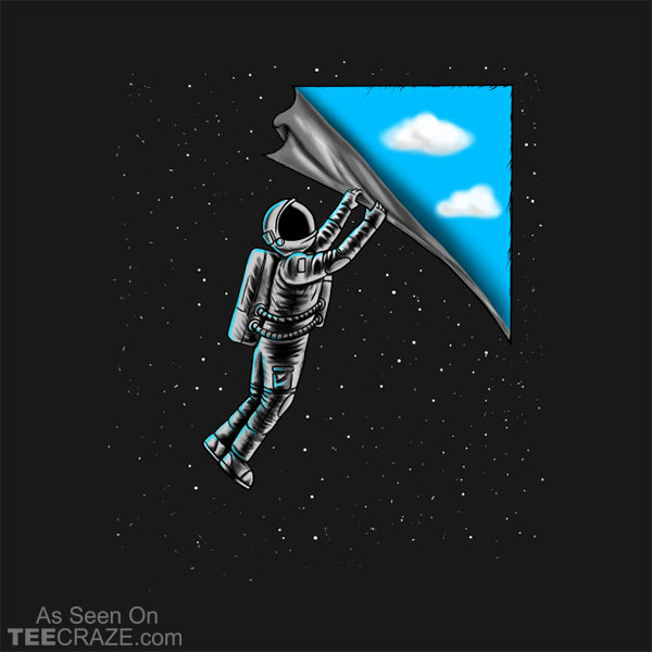 Astronaut Open The Sky T-Shirt