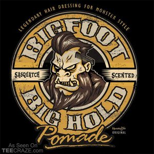 Big Foot Pomade T-Shirt