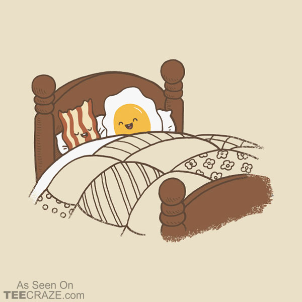 Breakfast In Bed T-Shirt