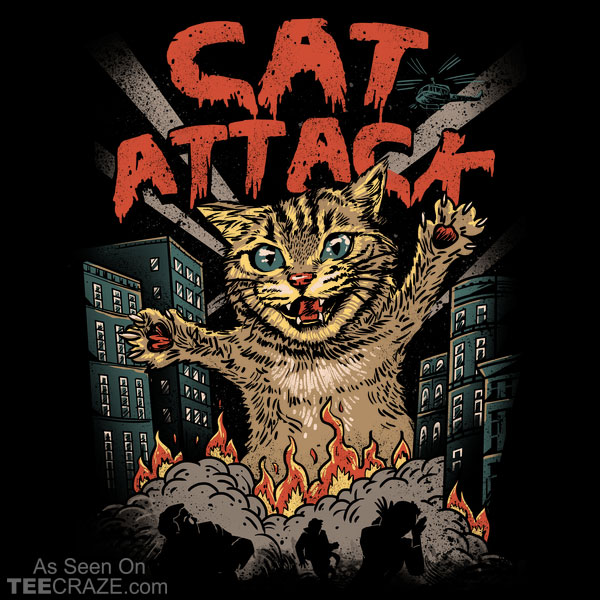 Cat Attack T-Shirt