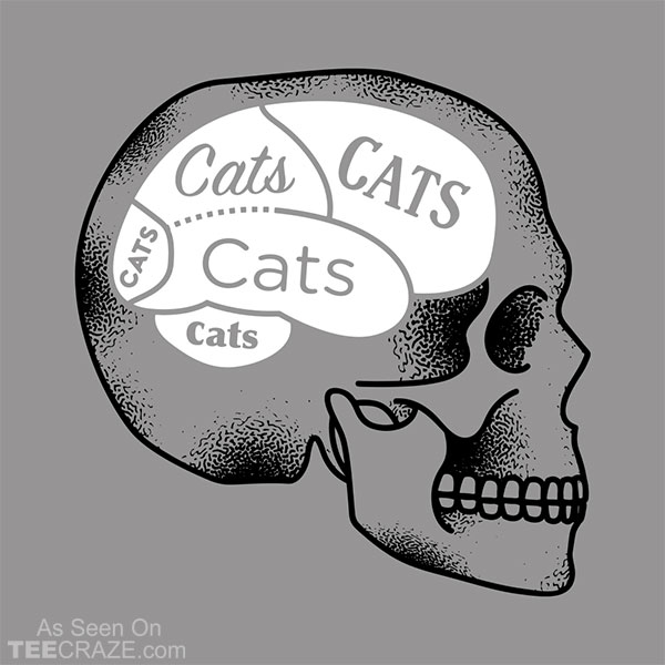 Cats On The Brain T-Shirt