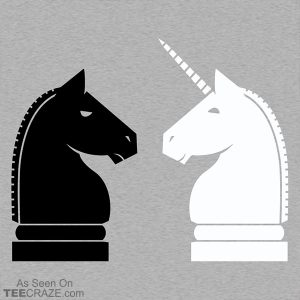 Chess Unicorn T-Shirt