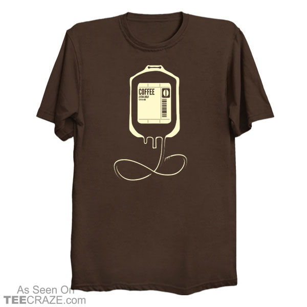 Coffee Transfusion T-Shirt