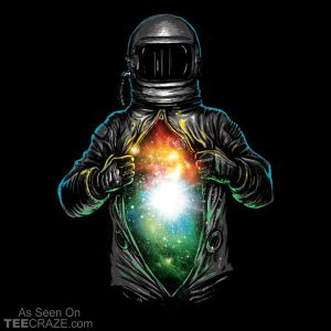 Cosmic Inside T-Shirt