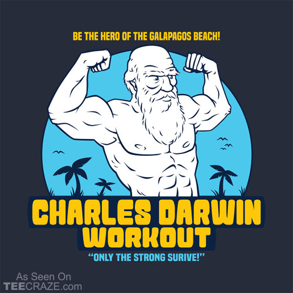 Darwin Workout T-Shirt
