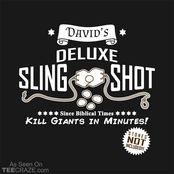 David's Slingshot Ad T-Shirt