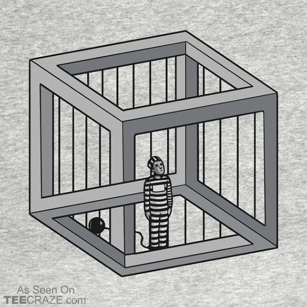 Escher's Jail T-Shirt