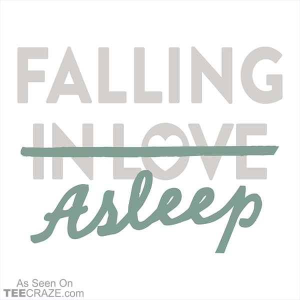 Falling Asleep T-Shirt