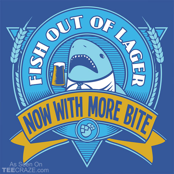 Fish Out Of Lager T-Shirt