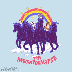 Four Horsemittens Of The Meowpocalypse T-Shirt