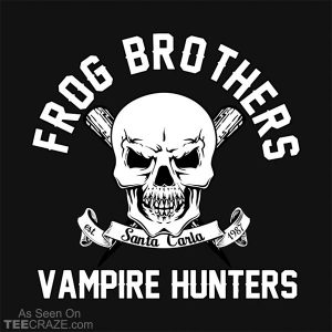 Frog Brothers Vampire Hunters T-Shirt