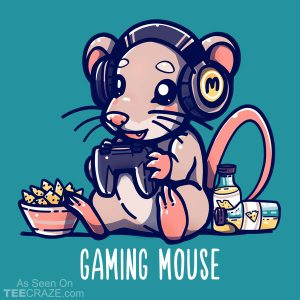Gaming Mouse T-Shirt