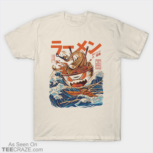 Great Ramen Off Kanagawa T-Shirt