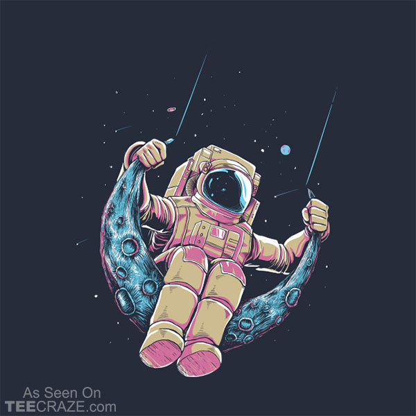 Ground Control To Major Tom T-Shirt