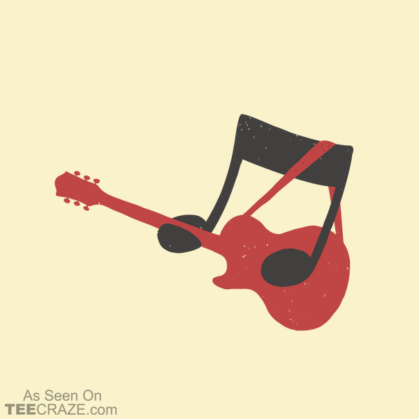 Guitar Note T-Shirt