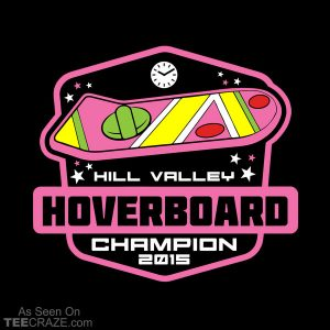 Hill Valley Hoverboard Champion T-Shirt
