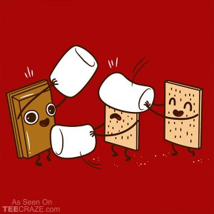 How Smores Are Made T-Shirt