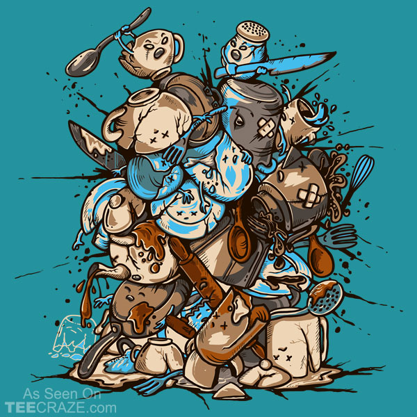 Kitchen Fight T-Shirt