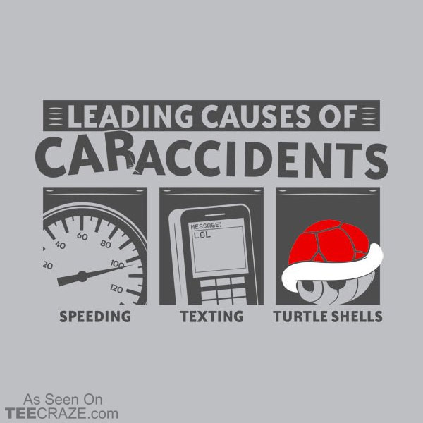 Leading Cause Of Car Accidents T-Shirt