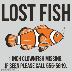 Lost Fish T-Shirt
