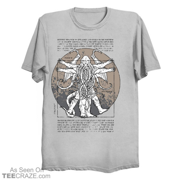 The Lovecraftian Man T-Shirt