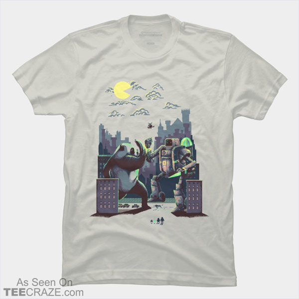 Madness At Pixel Town T-Shirt
