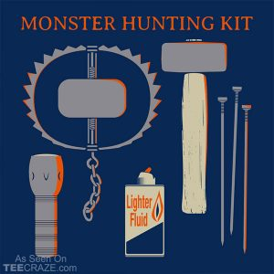 Monster Hunting Kit T-Shirt