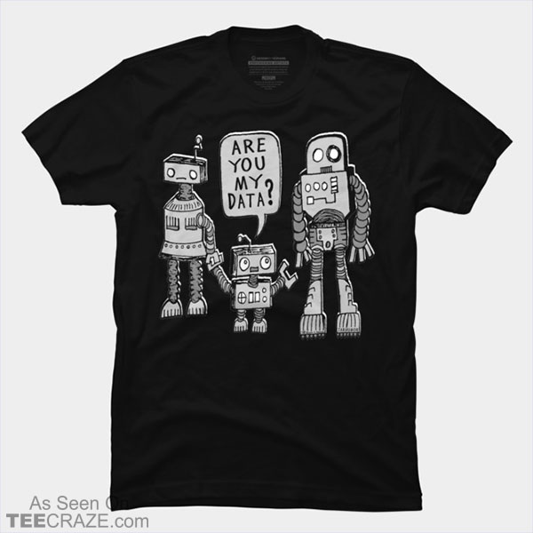 My Data Robot Kid T-Shirt