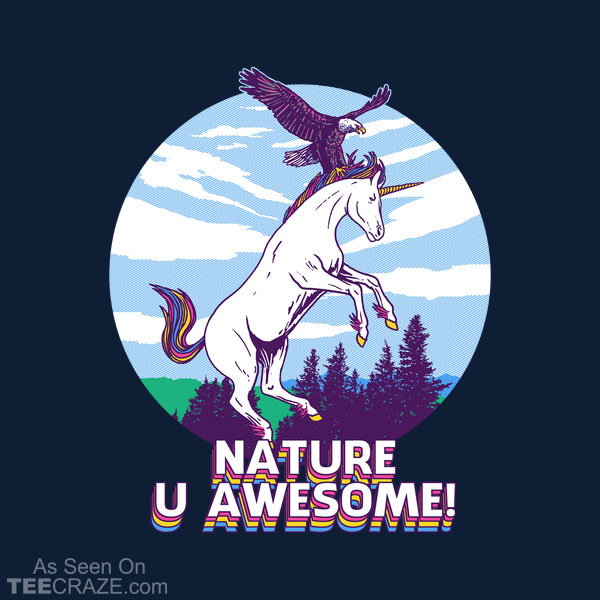 Nature U Awesome T-Shirt