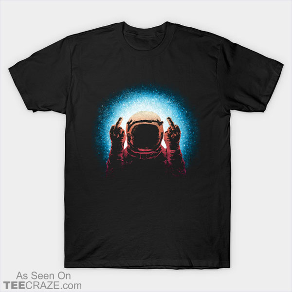 Negative Spaceman T-Shirt