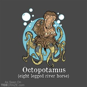 Octopotamus T-Shirt