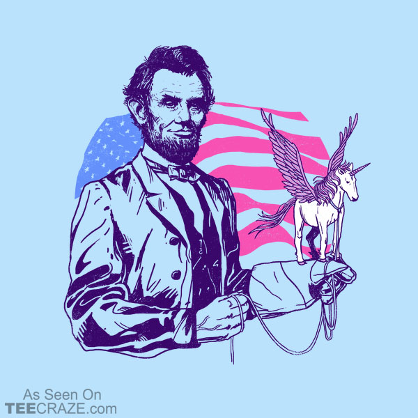 Pegacorn Lincoln T-Shirt