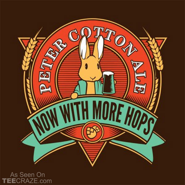 Peter Cotton Ale T-Shirt