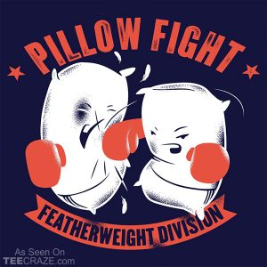 Pillow Fight Featherweight Division T-Shirt