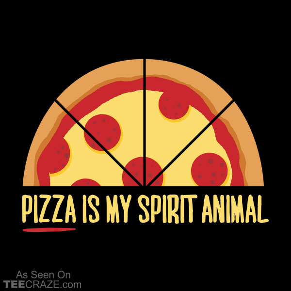 Pizza is My Spirit Animal T-Shirt