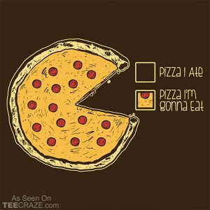Pizza Pie Chart T-Shirt