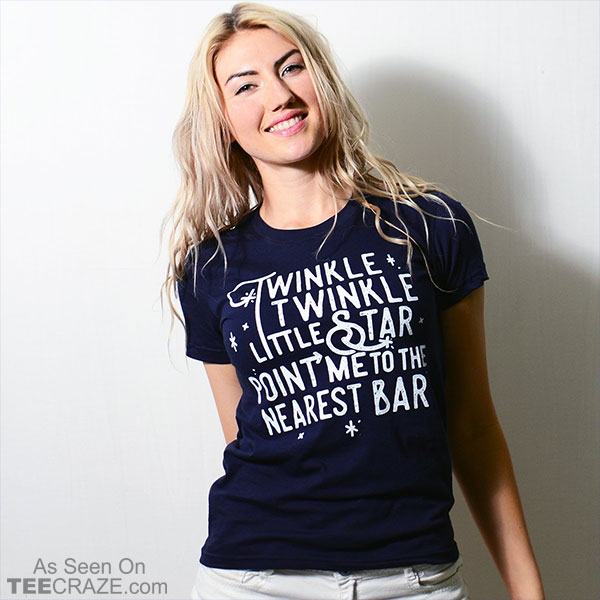 Point Me To The Nearest Bar T-Shirt