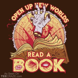 Read A Damned Book T-Shirt