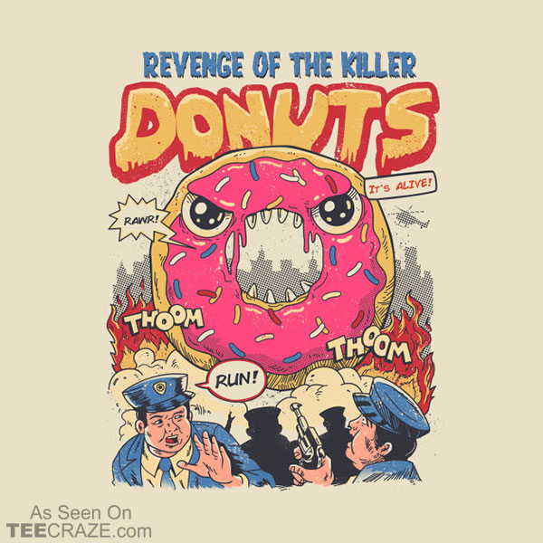 Revenge of the Killer Donuts T-Shirt