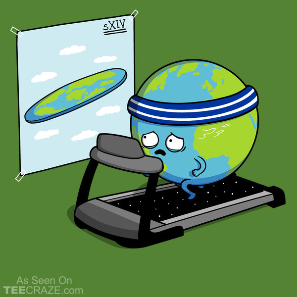 Round Earth T-Shirt