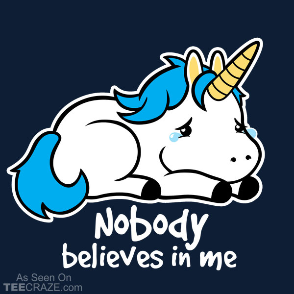 Sad Unicorn T-Shirt