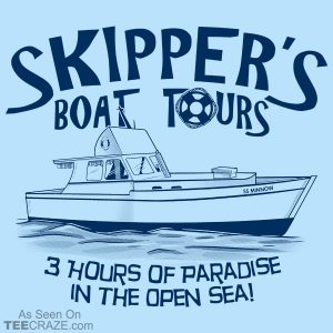 Skipper's Boat Tours T-Shirt