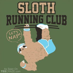 Sloth Running Club T-Shirt