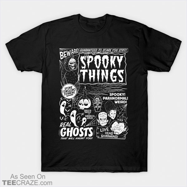 Spooky Things T-Shirt