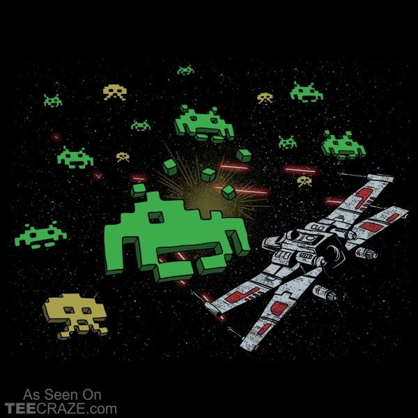 Star Invaders T-Shirt