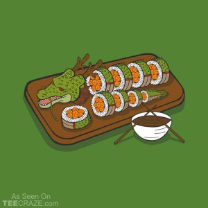 Sushi Dragon Shen Long T-Shirt
